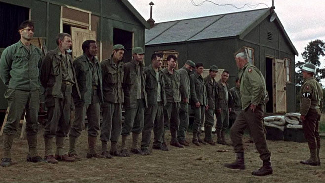 The Dirty Dozen cast