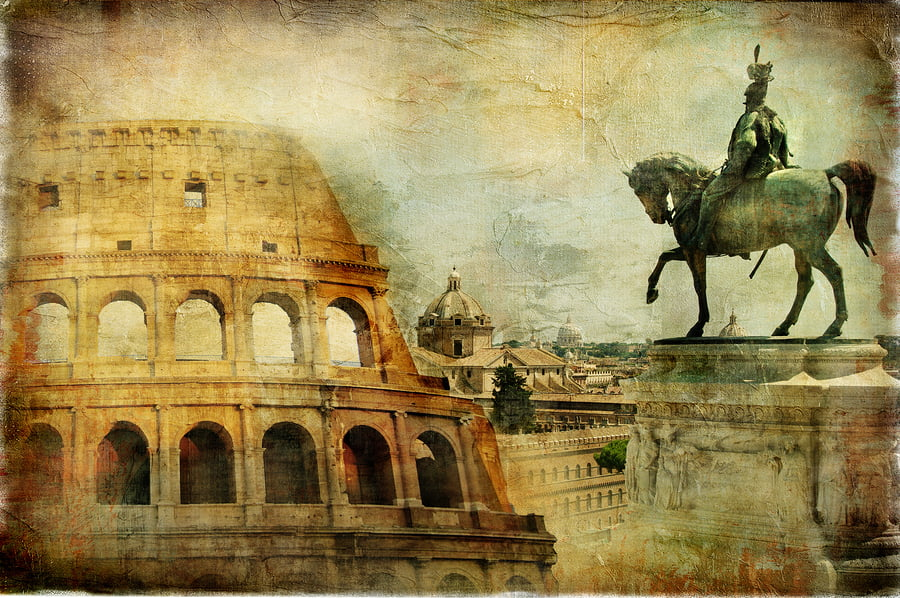 Roman empire in science fiction