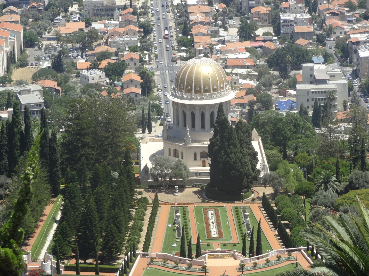 The Bahai temple in my hometown - Haifa, Israel